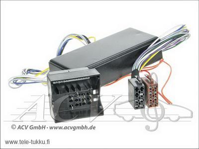 1324-50 Audi Aktiivijärjestelmä adapteri (BOSE)-716