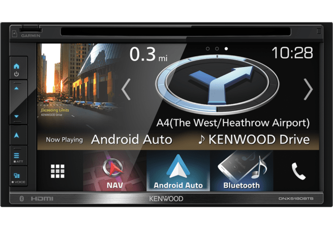 "Kenwood DNX5180BTS 6.8"" A/V Navimediakeskus-0"