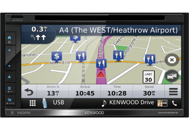 "Kenwood DNX5180BTS 6.8"" A/V Navimediakeskus-18978"