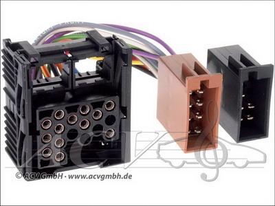321021-02 BMW radio- >2001 ISO Adapteri-395