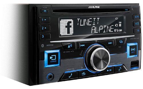Alpine CDE-W296BT Cd/Usb Ohjelmalähde-454