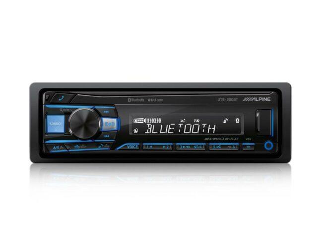 Alpine UTE-200BT USB Bluetooth Soitin-0
