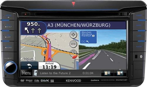 "Kenwood VW 7"" Navi Multisoitin-0"