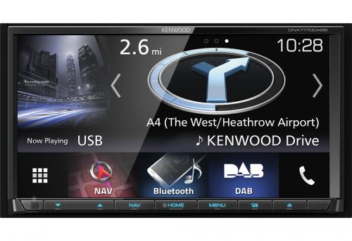 "Kenwood DNX7170DABS 7"" Navimediakeskus-0"