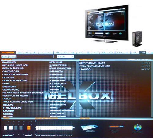 Melbox Start 10 Karaoketietokone, n. 470 laulua-1566