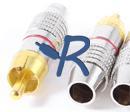 R-Audio RC-24KMr, Metalli Rca Uros Punainen-0