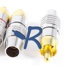 R-Audio RC-24KMb, Metalli Rca Uros Musta-0