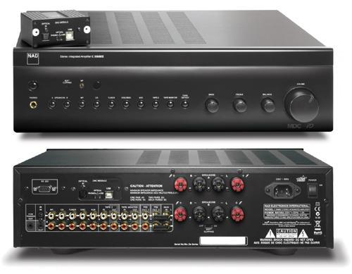 NAD C356DAC II Integroitu Stereo, 2x80W-0