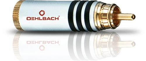 Oehlbach Hyper Cut Cool Silver, Rca Liitin-8651