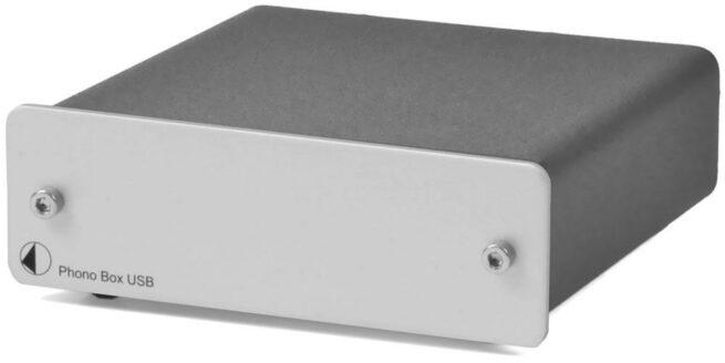 Phono Box USB RIAA-Korjain MM/MC-0