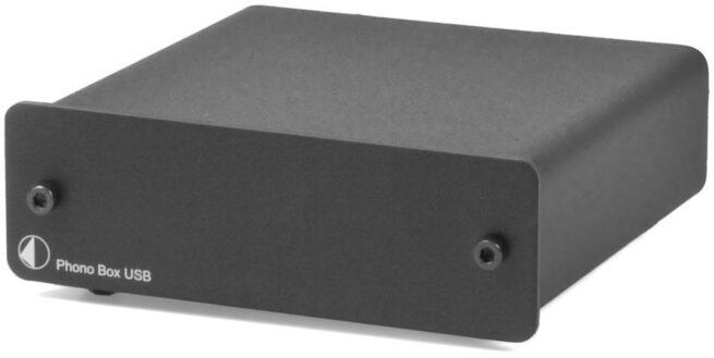 Phono Box USB RIAA-Korjain MM/MC-12655