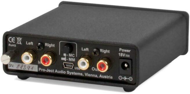 Phono Box USB RIAA-Korjain MM/MC-12656