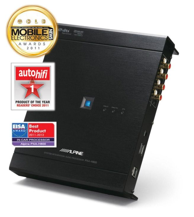 Alpine PXA-H800 Prosessori-12208