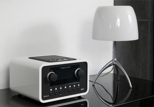Tangent Alio Baze Mono BT -CD- pöytäradio, Valkoinen-0