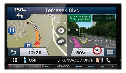 Kenwood DNX8170DABS Android Navi / Carplay Ajoneuvotietokone-0