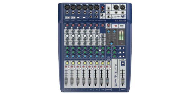 Soundcraft Signature 10 Kompakti Mikseri-0