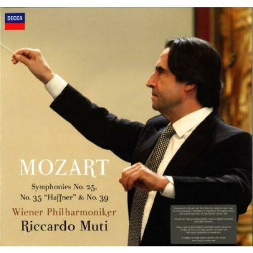 W. A. Mozart – No. 25, 35 & 39 , tupla LP-0