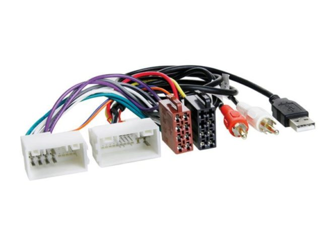 Radiojohto Hyundai > ISO norm > AUX / USB-0