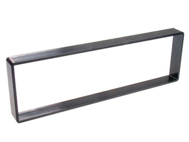 1-DIN facia distance frame Citroën C4 black-0