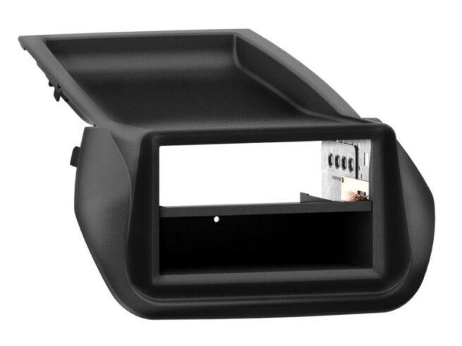 2-DIN Soitinkehys kotelolla Fiat/ Citroen/ Peugeot black-0
