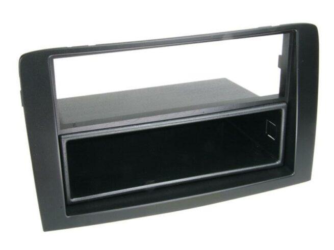 2-DIN Soitinkehys kotelolla Fiat Idea 2005 > black-0