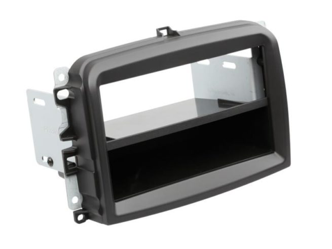 2-DIN Soitinkehys kotelolla Fiat 500L > black-0