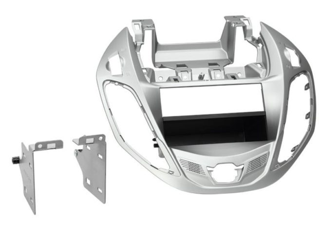 2-DIN Soitinkehys kotelolla Ford B-Max > nestor silver-0