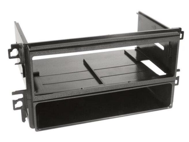 1-DIN Soitinkehys kotelolla Hyundai Sonata/Santa Fe black-0