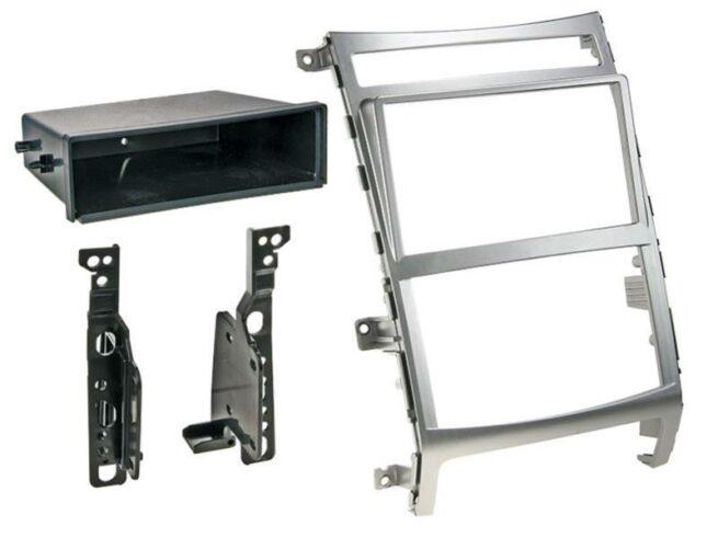 2-DIN Soitinkehys kotelolla Hyundai IX55/Vera Cruz silver-0