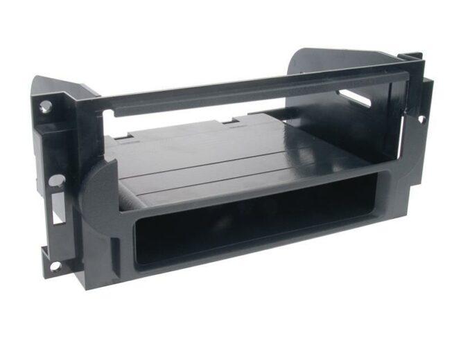 1-DIN Soitinkehys kotelolla Chrysler/Jeep black-0