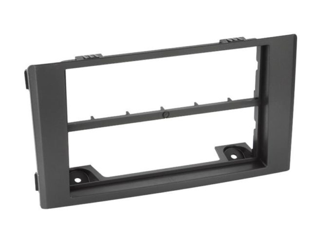 2-DIN Soitinkehys with middle bar Iveco Daily black-0