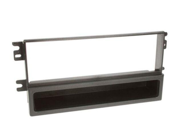 1-DIN Soitinkehys kotelolla KIA black-0
