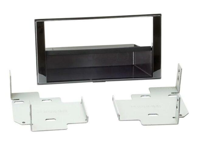 2-DIN Soitinkehys kotelolla Nissan Micra/Note piano black-0