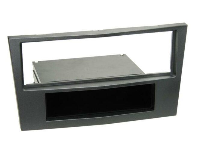 1-DIN Soitinkehys kotelolla Opel charcoal metallic-0