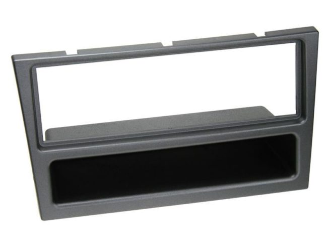 1-DIN Soitinkehys kotelolla Opel/Renault charcoal metallic-0
