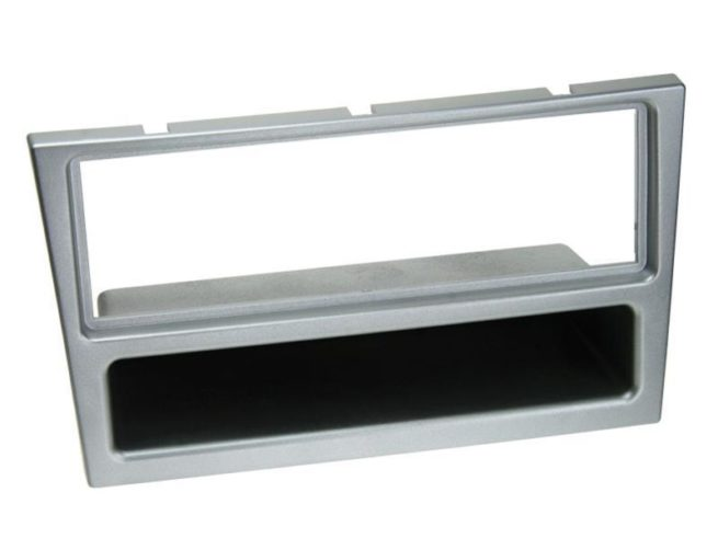 1-DIN Soitinkehys kotelolla Opel matt chrome-0