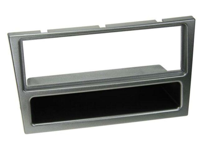 1-DIN Soitinkehys kotelolla Opel Corsa aluminium-0