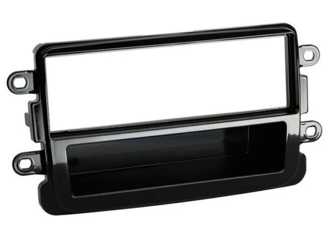 1-DIN Soitinkehys Dacia Dokker / Duster / Lodgy piano black-0