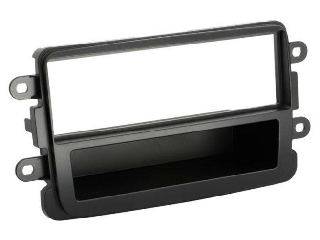1-DIN Soitinkehys Dacia Dokker / Duster / Lodgy black-0