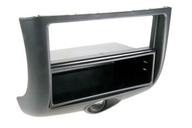 2-DIN Soitinkehys kotelolla Toyota Yaris 1999 > 2003 black-0