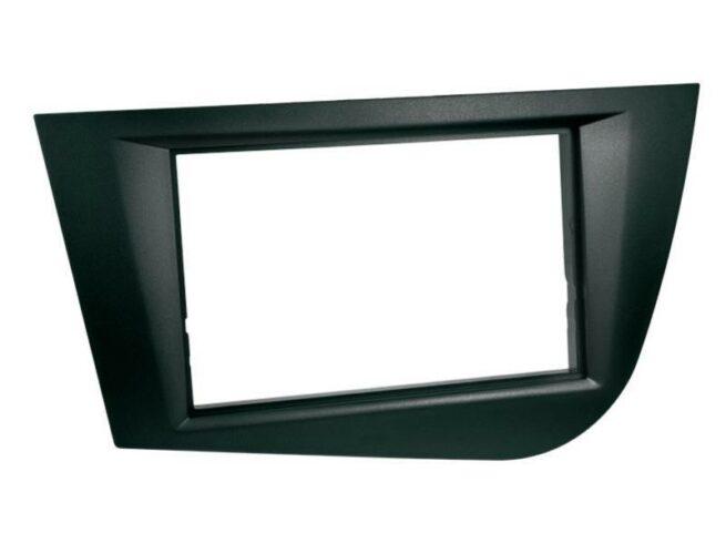 2-DIN Soitinkehys Seat Leon 2005 - 2009 black-0