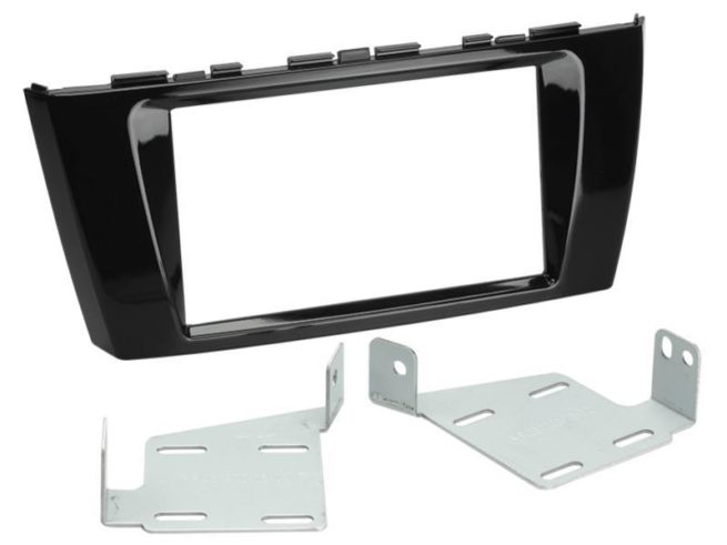 2-DIN Soitinkehys Mitsubishi Space Star 2013 > piano black-0