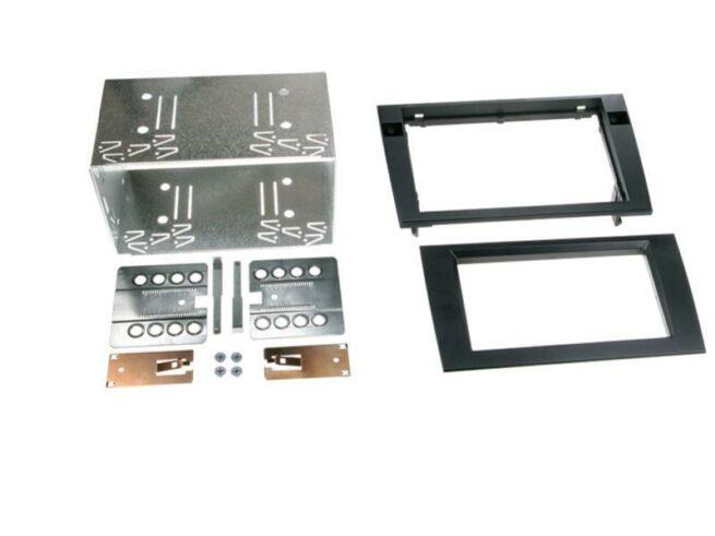 2-DIN Soitinkehys Audi A4 (B6 / B7) / Seat Exeo black-0