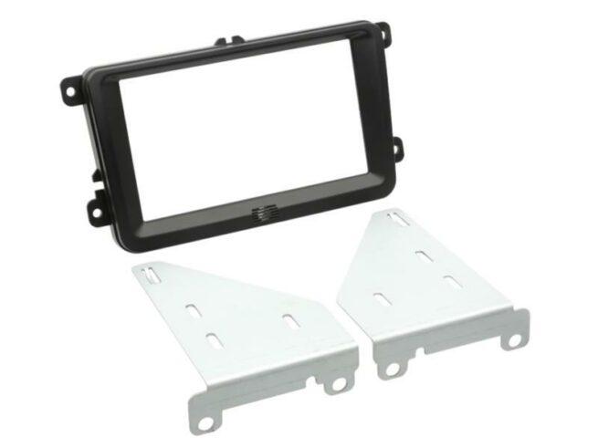 2-DIN Soitinkehys Seat / Skoda / VW black-0