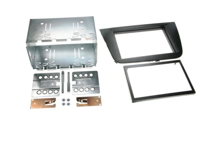 2-DIN Soitinkehys Seat Toledo / Altea / Altea XL black-0