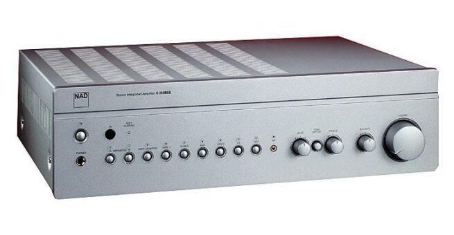 NAD C356DAC Titan Integroitu Stereo, 2x80W-0