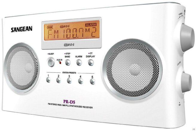 Sangean PR-D5 Stereo Pöytä/Matkaradio-15126
