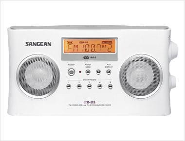 Sangean PR-D5 Stereo Pöytä/Matkaradio-0