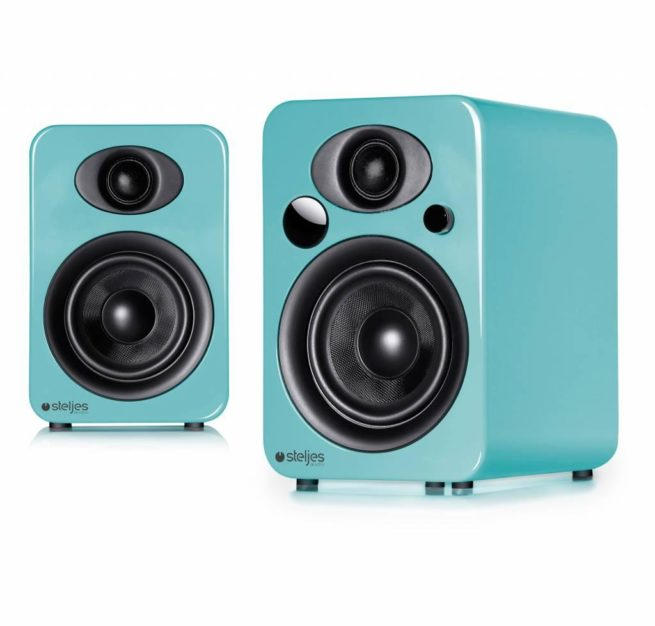 Steljes Audio NS3 Aktiivikaiutinpari-14371