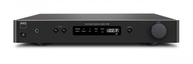 NAD C338 Hybrid Digital Vahvistin WLAN-16053